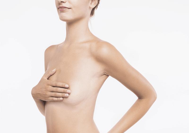 Poils sur les seins