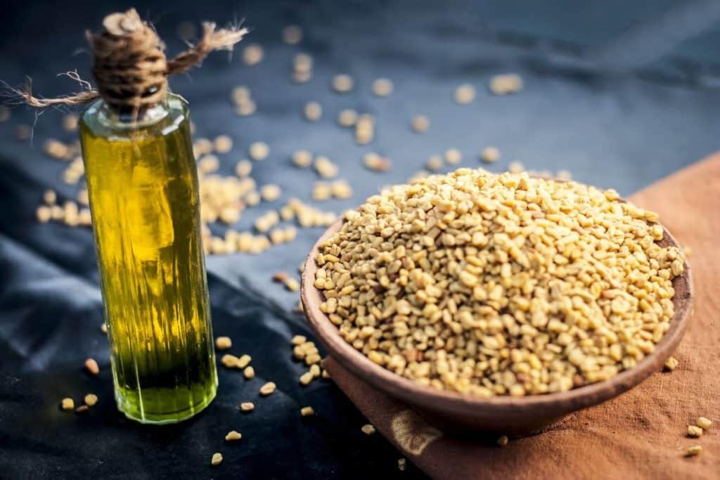 Huile et graines de Fenugrec